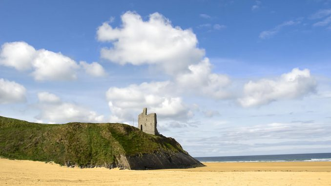 Ballybunion Castle and Beach