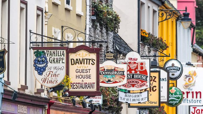 Shop Signs Kenmare