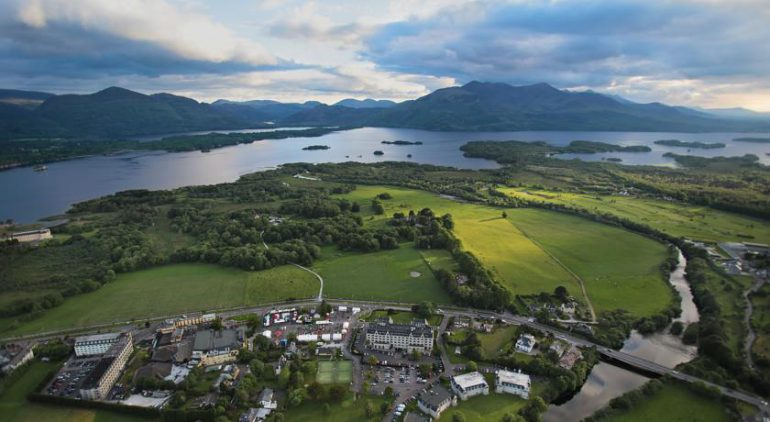 Gleneagle Hotel Killarney Aerial View