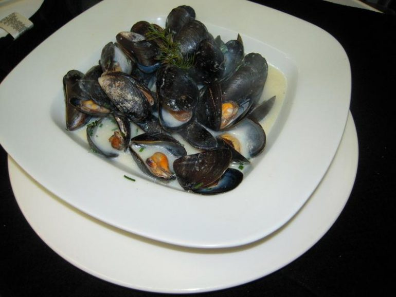 Mussels at Dingle Bay Hotel