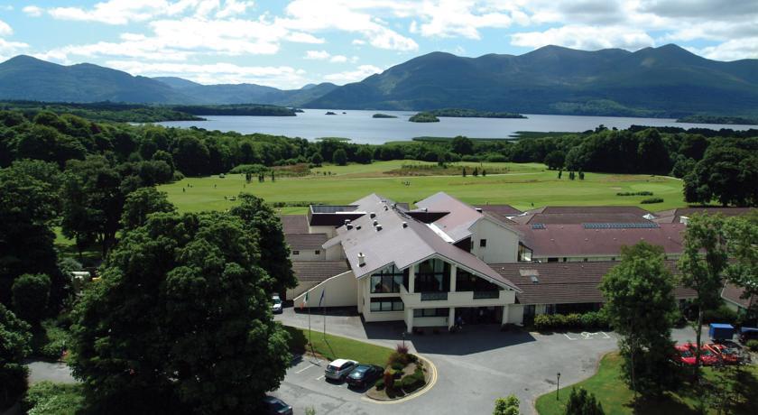 Castlerosse Hotel Killarney Aerial View