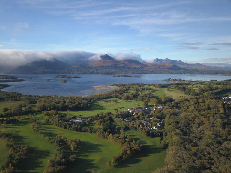 Castlerosse Park Resort Killarney Aerial View
