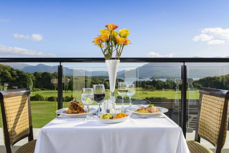 Castlerosse Park Resort Balcony Dining