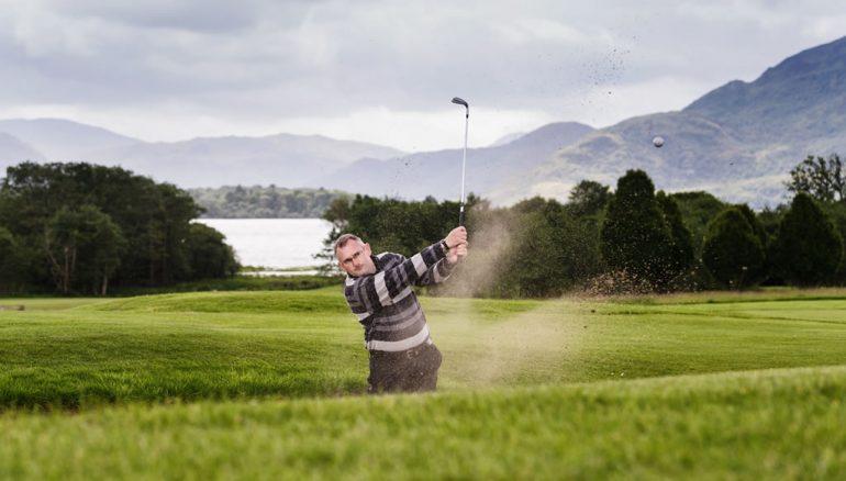 Golf at Castlerosse Park Resort hotel killarney