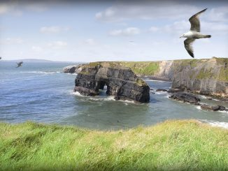 ballybunion kerry ireland virgin rock