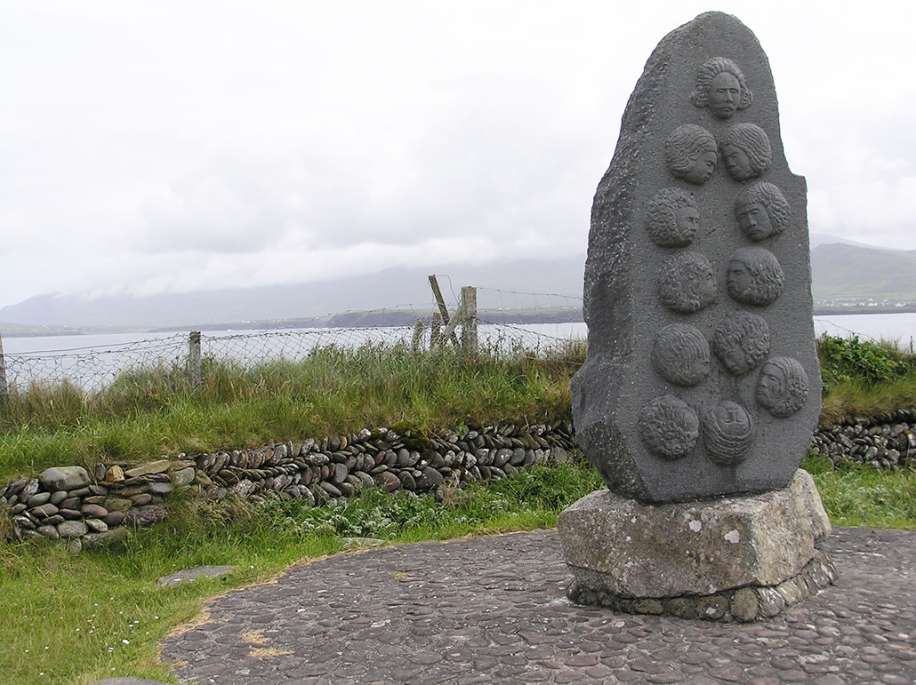 Dún An Óir Fort massacre Memorial Monument