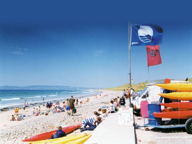 Banna Beach Blue Flag