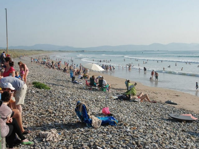 Banna Beach Summer Crowd