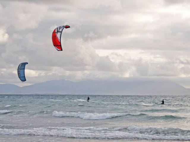 Banna Beach Kite Surfing