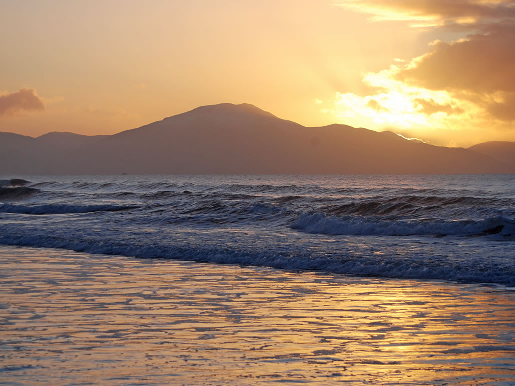 Sunset at Banna County Kerry