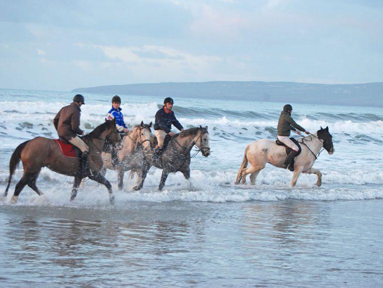 Horse Riding Banna Beach