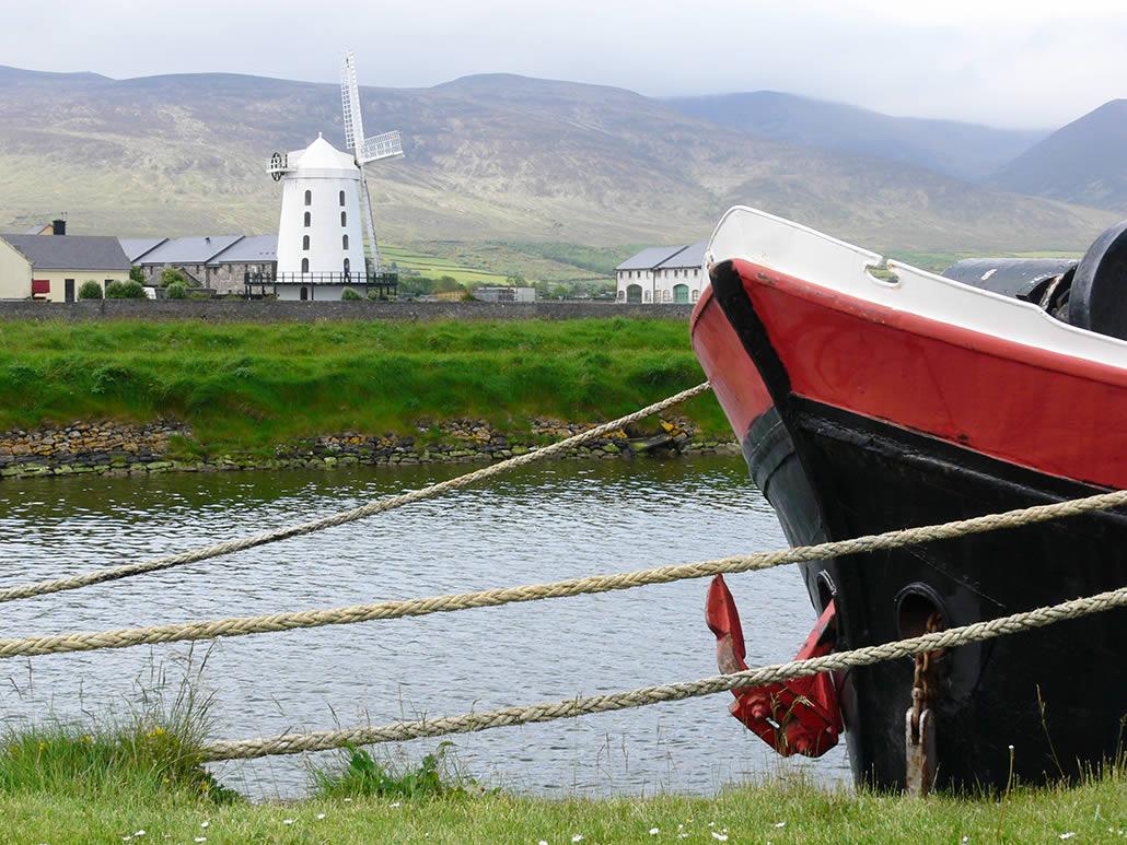 Boat at Blennerville