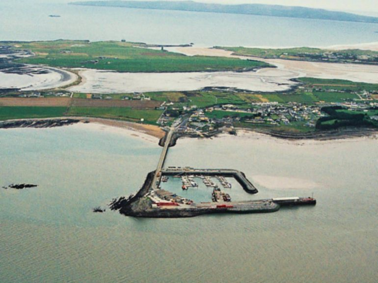 Aerial View Fenit Harbour