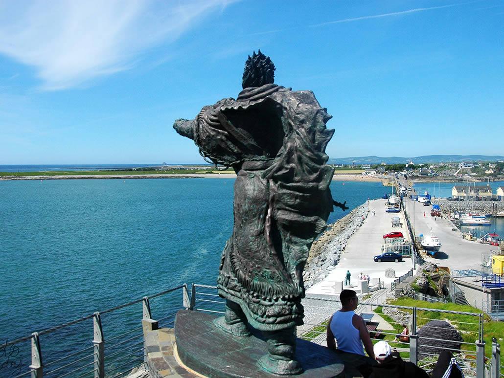 St. Brendan The Navigator Bronze Fenit