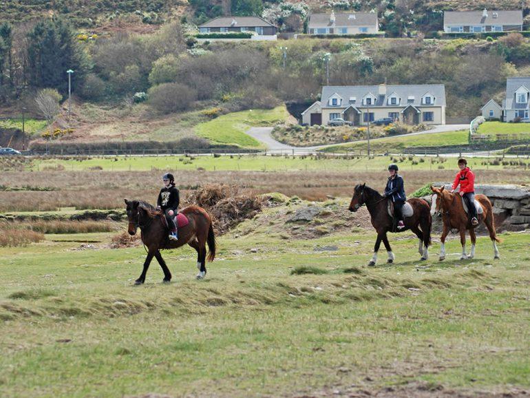 Horse Riding near Glenbeigh