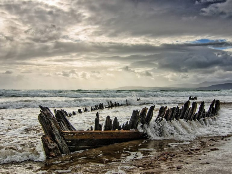 Wreck of The Sunbeam on Rossbeigh