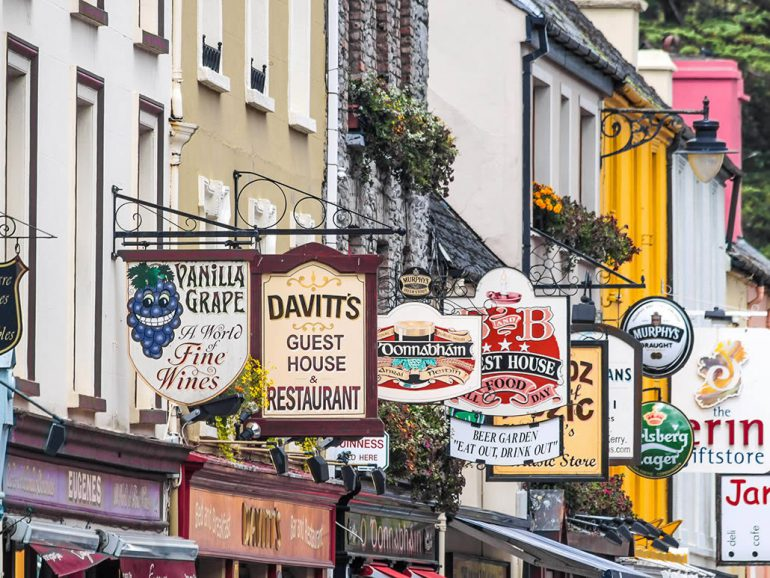 Kenmare Shop Signs