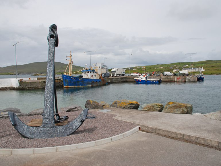 Anchored at Portmagee