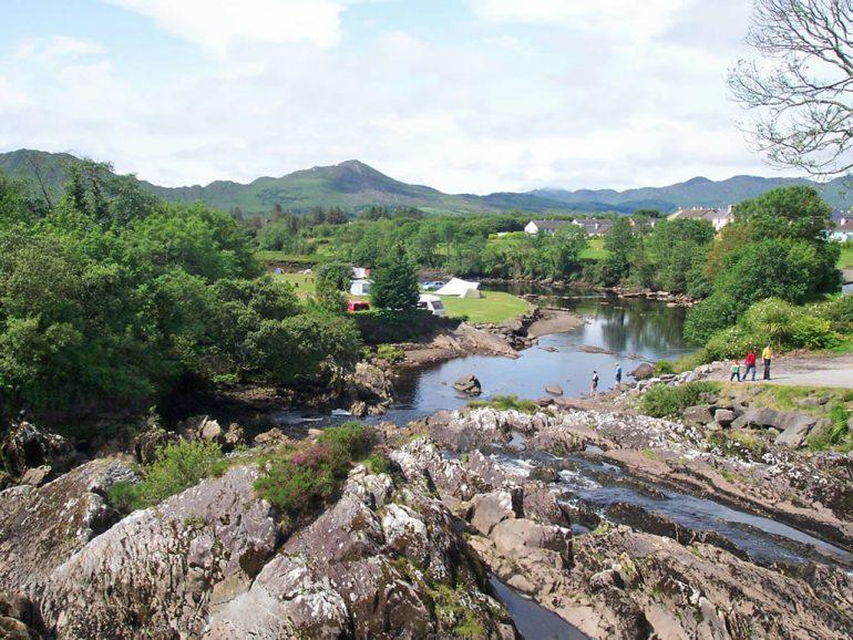 Sneem Scene County Kerry