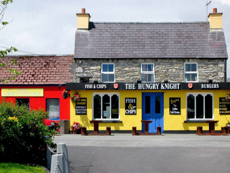 Colourful Shop Front Sneem County Kerry