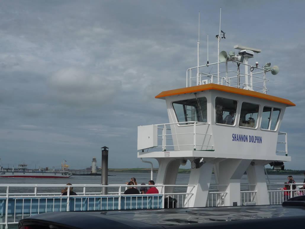 Shannon Dolphin Car Ferry Tarbert
