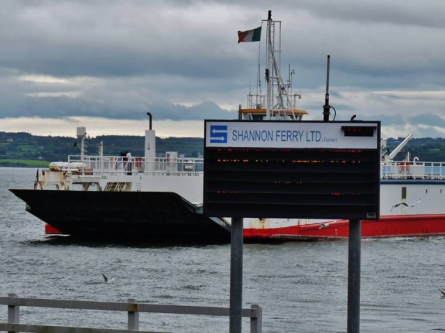 Car Ferry arriving at Tarbert