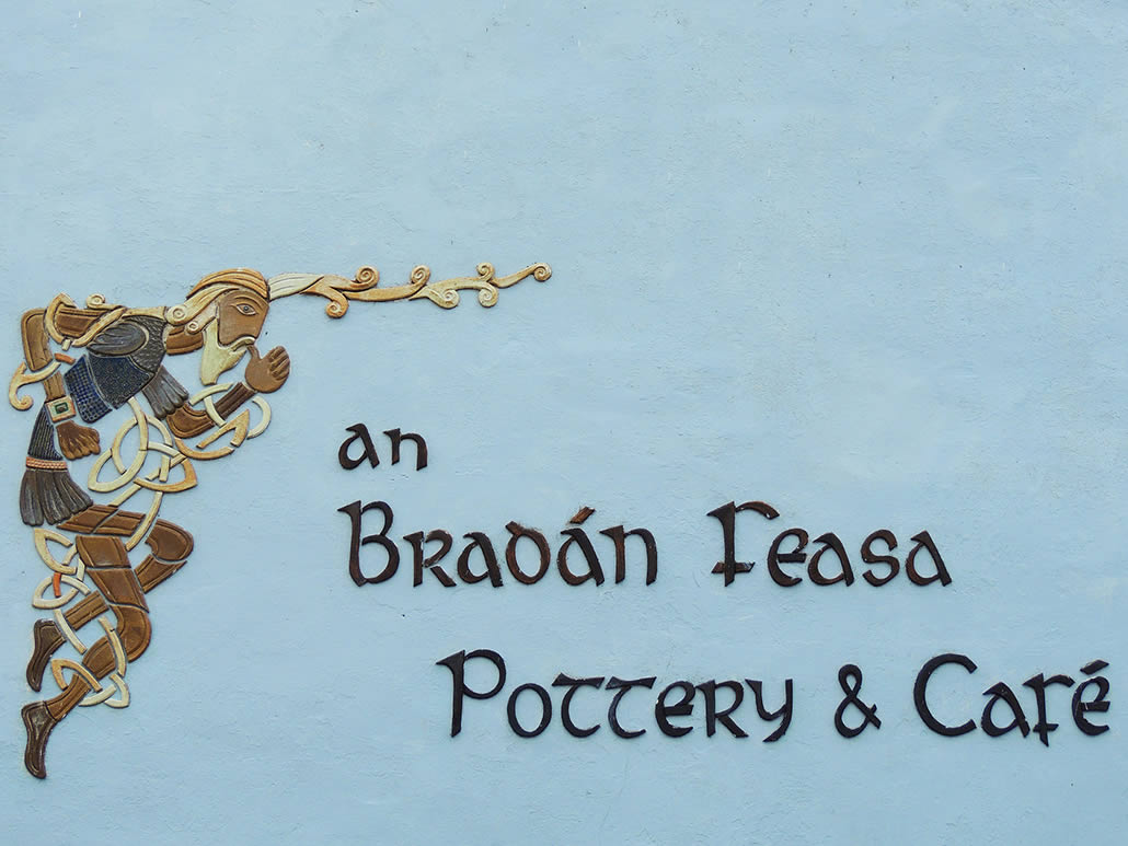 Pottery Sign in Ventry