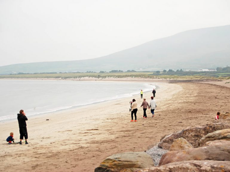 Walking on Ventry Beach