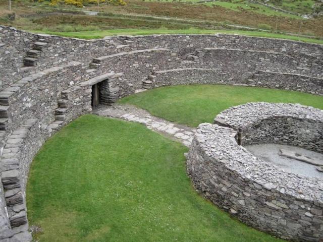 Cahergall Stone Fort Cahersiveen