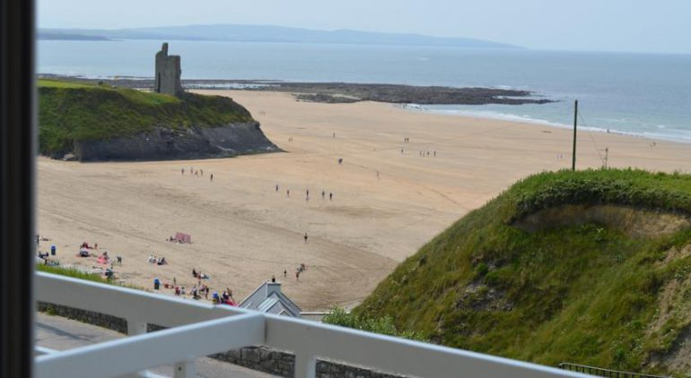 Cliff House Hotel Ballybunion Beach View