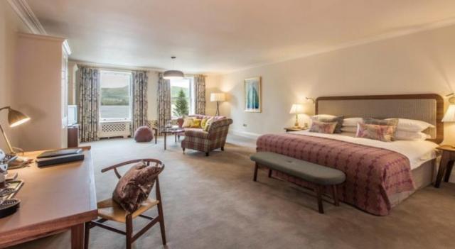 Sheen Falls Lodge Kenmare Bedroom 2