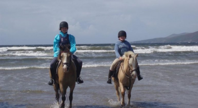 Ballyheigue Beach Horse Riding