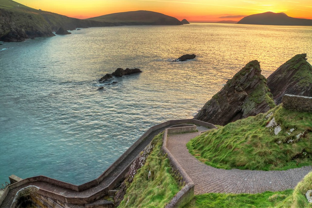 dunquin on wild atlantic way Kerry