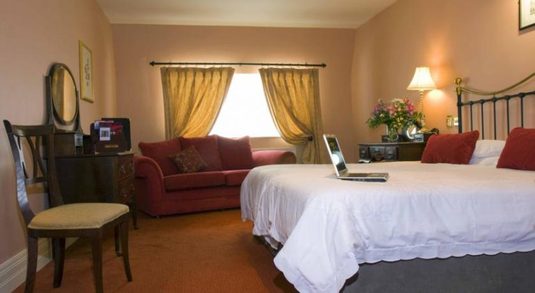 Listowel Arms Hotel Bedroom