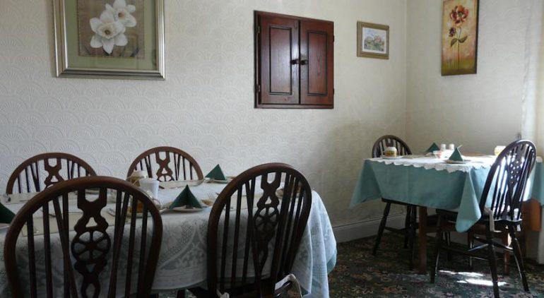 Greenmount B&B Killarney breakfast