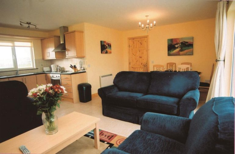 Banna Beach Self Catering Sitting Room