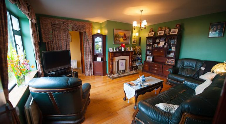 Castle View Ballylongford Bed and Breakfast Lounge