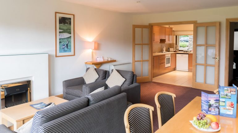 Castlerosse Park Resort holiday homes Killarney Lounge