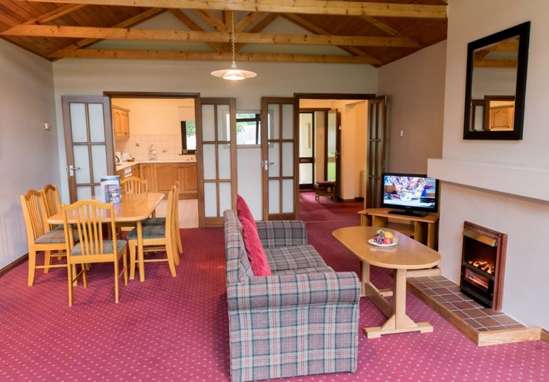 Castlerosse Park Resort holiday homes Killarney sitting room