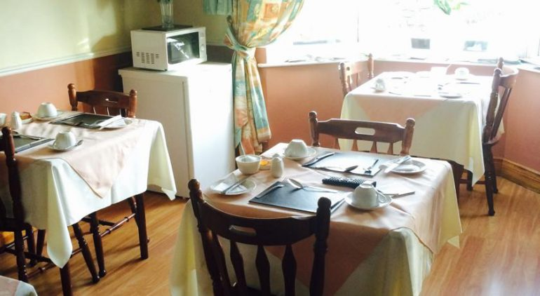 Maureens B&B Tralee Breakfast Room