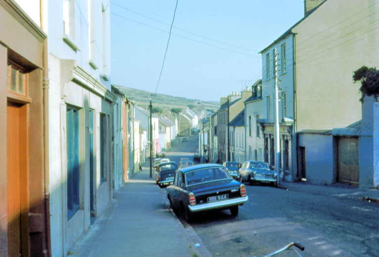 Top of Main Street Dingle 1968