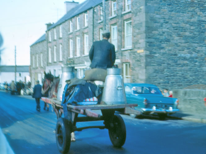 Going to the Creamery Dingle in 1968