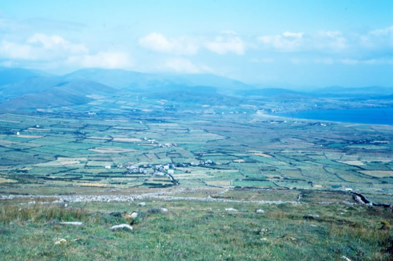 View from Mount Eagle Ventry in 1968