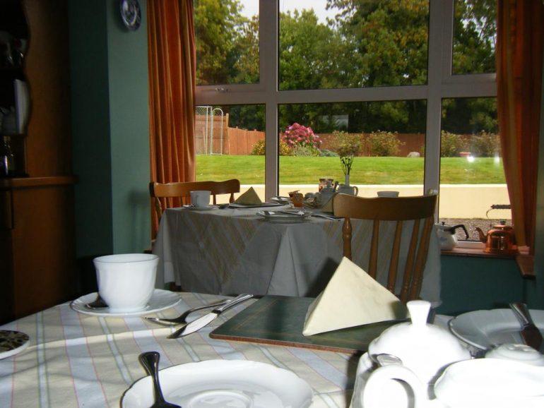 Ashfield Kenmare b&b breakfast