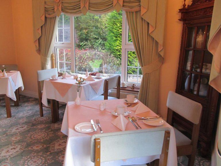 Neidin House B&B Kenmare Breakfast Room