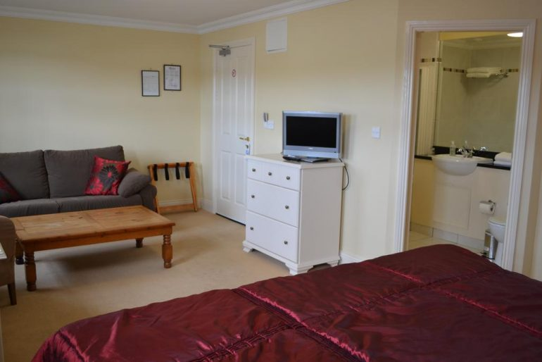 The Moorings Portmagee Double bedroom