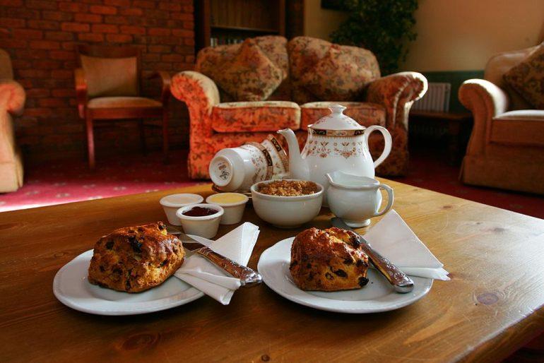 Kerry Ocean Lodge tea scones