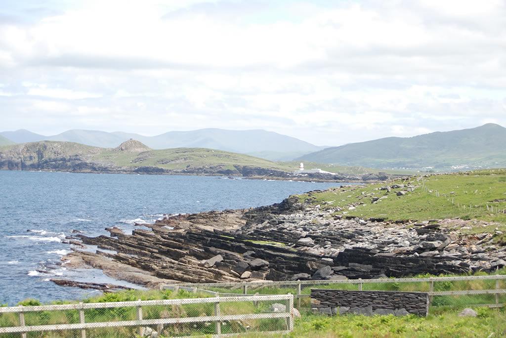 location of Valentia Island Tetrapod Tracks