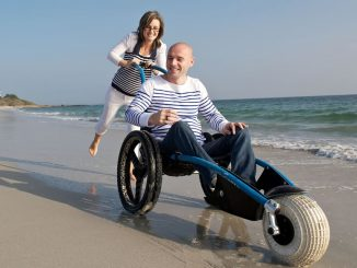 hippocamp beach-friendly wheelchairs in kerry