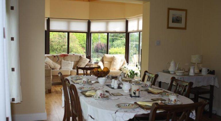 palmgrove bed and breakfast listowel breakfast room
